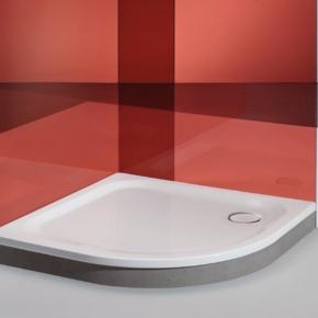 Душевые поддоны. BETTE Corner Душевой поддон 90x90x3.5 см без панели, цвет белый