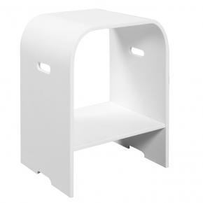 Банкетки для ванной Пуфы Интерьерные Табуреты для ванной и душа Откидные сиденья. DIAMOND WHITE табурет для ванной и душа акриловый белый