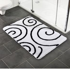 Коврики для ванной комнаты.   Коврик для ванной комнаты Nicol с декором Kira