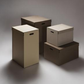 Аксессуары и Мебель для дома. Parma кожаные корзины для белья универсальные с крышкой и боксы