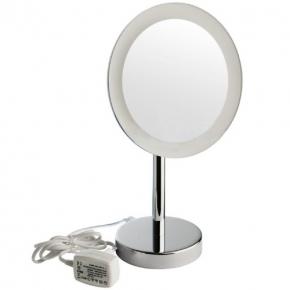Зеркала косметические с подсветкой увеличением настенные настольные Зеркала с присосками. COLOMBO зеркало косметическое настольное с LED подсветкой и увеличением x3 B9750