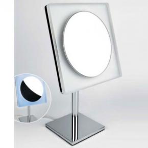 Зеркала косметические с подсветкой увеличением настенные настольные Зеркала с присосками. COLOMBO зеркало косметическое настольное с LED подсветкой и увеличением x3 B9755