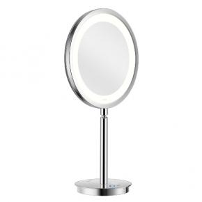 Зеркала косметические с подсветкой увеличением настенные настольные Зеркала с присосками. ALISEO LED SATURN T3 косметическое зеркало с подсветкой и увеличением х3 настольное
