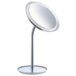 Зеркала косметические с подсветкой увеличением настенные настольные Зеркала с присосками. Keuco Bella Vista зеркало косметическое с гибкой ножкой LED подсветка с проводом настольное