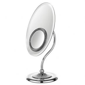 Зеркала косметические с подсветкой увеличением настенные настольные Зеркала с присосками. Helena Amelie Nicol косметическое настольное двухстороннее зеркало с LED подсветкой и увеличением 1х1 и 1х5