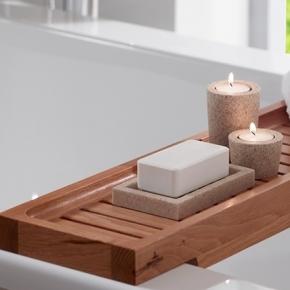 . Полка для ванны Деревянная Тиковая Villeroy&Boch