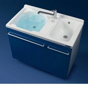 Итальянские постирочные раковины Мебель и оборудование для постирочной комнаты. Постирочная раковина двойная Colavene Active Wash