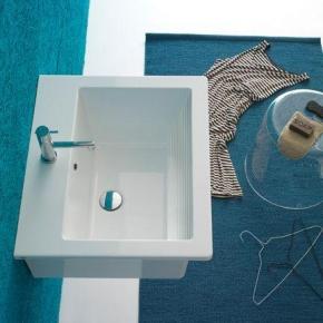 Итальянские постирочные раковины Мебель и оборудование для постирочной комнаты. GLOBO Forty3 раковина постирочная хозяйственная 60 см