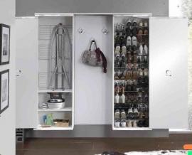 Итальянские постирочные раковины Мебель и оборудование для постирочной комнаты. Встроенная в шкаф гладильная доска-трансформер Milly