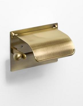 Аксессуары для ванной настенные. Бронзовые аксессуары для ванной Бумагодержатель Windsor PomdOr