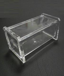 Контейнеры для ватных Дисков Шариков Палочек. Контейнер для ватных палочек с крышкой Acryl