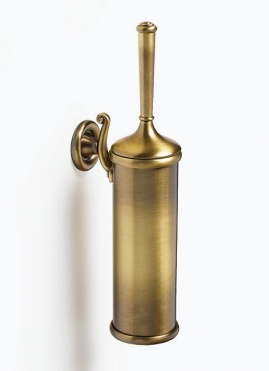 Ёршики для унитаза напольные и настенные. Бронзовые аксессуары для ванной ёршик для унитаза настенный Windsor PomdOr