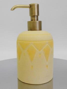 . Аксессуары для ванной настольные Sole Marmores дозатор керамический декор бронзовый