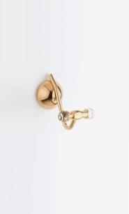 . Diamant Аксессуары для ванной с кристаллами Swarovski крючок двойной