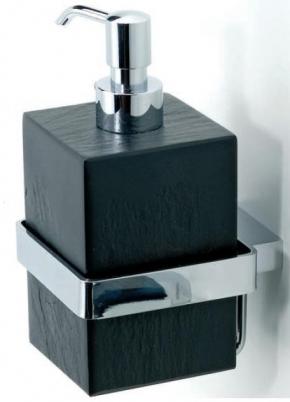 . Ardesia аксессуары для ванной чёрные настенные дозатор натуральный чёрный Сланец