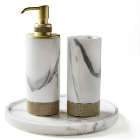 . Apuana мраморные аксессуары для ванной настольные