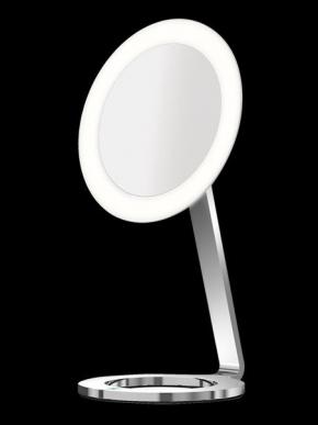 Зеркала косметические с подсветкой увеличением настенные настольные Зеркала с присосками. ALISEO зеркало MOON DANCE с подсветкой и увеличением х3 настольное