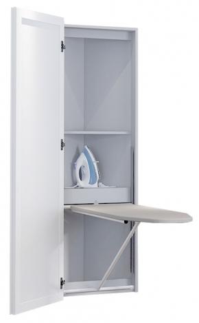 Гладильные доски. KALEVALA BELSI угловая гладильная доска-трансформер с зеркальной дверью