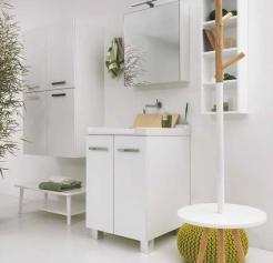 .  Мебель для постирочной Cily Colavene постирочная керамическая раковина