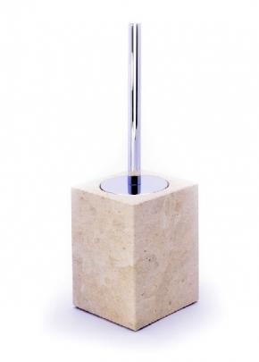 Ёршики для унитаза напольные и настенные. Аксессуары для ванной из натурального камня Лечче Olta ёршик для унитаза напольный