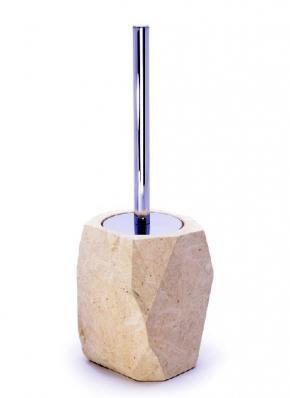 Ёршики для унитаза напольные и настенные. Аксессуары для ванной из натурального камня Лечче Cuppsi Ёршик для унитаза напольный