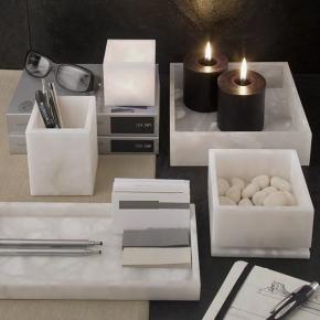. Alabaster 1 аксессуары для ванной Алебастровые белые