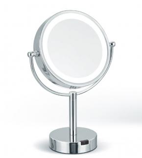 Зеркала косметические с подсветкой увеличением настенные настольные Зеркала с присосками. Theresa Nicol косметическое настольное зеркало двухстороннее с увеличением 1х1 и 1х5 и Led подсветкой