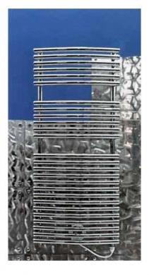 Полотенцесушители электрические и водяные. Arbonia полотенцесушитель электрический BAGNOTHERM OVAL WATT BTOW