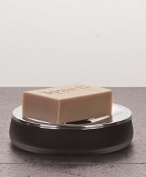 Аксессуары для ванной настольные. Baltic Nicol настольные Аксессуары для ванной стеклянные чёрные Мыльница