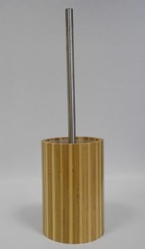 Ёршики для унитаза напольные и настенные. Bambus Nicol деревянный Ёршик для унитаза напольный бамбуковый