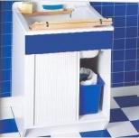 Итальянские постирочные раковины Мебель и оборудование для постирочной комнаты.  Мебель для постирочной JWR Colavene Глубокая раковина для стирки