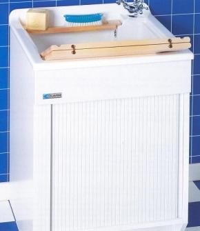 Итальянские постирочные раковины Мебель и оборудование для постирочной комнаты. Постирочная раковина JollyWash Rollo Colavene