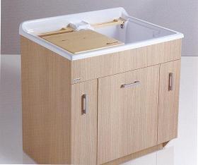 Итальянские постирочные раковины Мебель и оборудование для постирочной комнаты.  Мебель для постирочной Глубокая раковина для стирки двойная Colavene