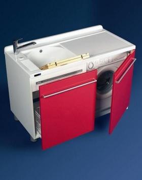 . Мебель для постирочной Active Wash Colavene Глубокая раковина для стирки с крылом для стиральной машины SX