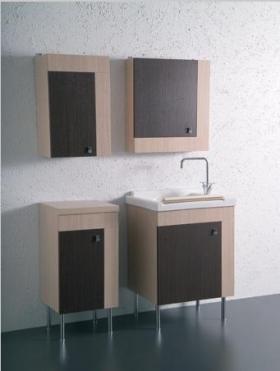 . Глубокая раковина для стирки мебель для постирочной Cily Colavene керамическая