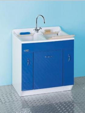 Итальянские постирочные раковины Мебель и оборудование для постирочной комнаты. Мебель для постирочной двойная Глубокая раковина для стирки Twist Colavene