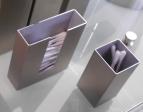 Контейнеры для ватных Дисков Шариков Палочек. Контейнер для ватных палочек настольный Матовый декор
