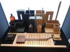 Мебель и Аксессуары для ванной из натурального дерева, Раттана и Бамбука. Настольные аксессуары для ванной деревянные тон Wenge Венге и Бук Decor Walther WOOD