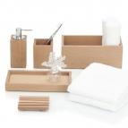. Decor Walther Настольные аксессуары для ванной деревянные тон Бук