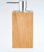 . Decor Walther Настольные аксессуары для ванной деревянные тон Бук дозатор