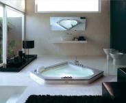 Ванны. Jacuzzi ванна с гидромассажем Aura Corner 140