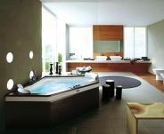 Ванны. Jacuzzi ванна угловая с гидромассажем Aura Corner.