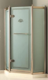 Душевые кабины Створки стеклянные Шторки для душа. DEVON & DEVON дверка для душа SAVOY Penta