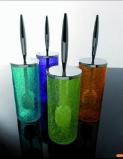 Ёршики для унитаза напольные и настенные. Long ёршик напольный стеклянный цветной кракелюр