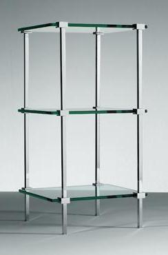 Этажерки для ванной. T 11 этажерка для ванной стеклянная тройная