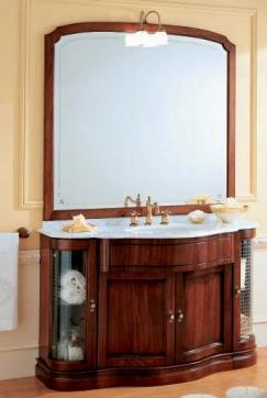 Мебель для ванной комнаты. Мебель для ванной умывальник с зеркалом Eurodesign IL BORGO 2