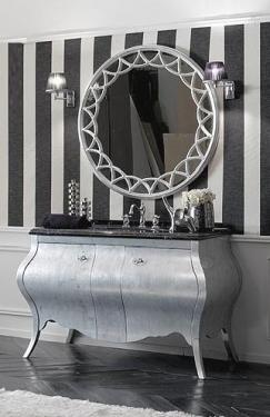 Мебель для ванной комнаты. Мебель для ванной Eurodesign умывальник с зеркалом Prestige