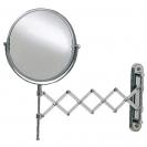 Зеркала косметические с подсветкой увеличением настенные настольные Зеркала с присосками. FRANZISKA Nicol косметическое зеркало шарнир гармошка с увеличением 1х1 и 1х5 двухстороннее