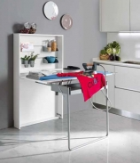 Итальянские постирочные раковины Мебель и оборудование для постирочной комнаты. Встроенная гладильная доска-трансформер Lio