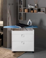 Итальянские постирочные раковины Мебель и оборудование для постирочной комнаты. Встроенная гладильная доска-трансформер Roni